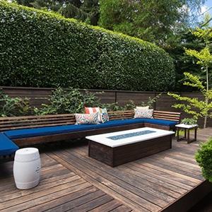 L'ossature terrasse