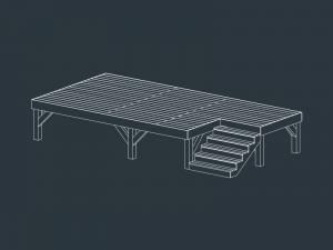 structure terrasse bois EOLE