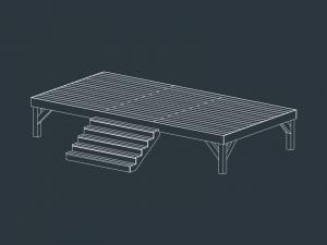 structure terrasse bois EOS