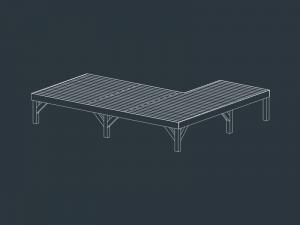structure terrasse bois EUROPE